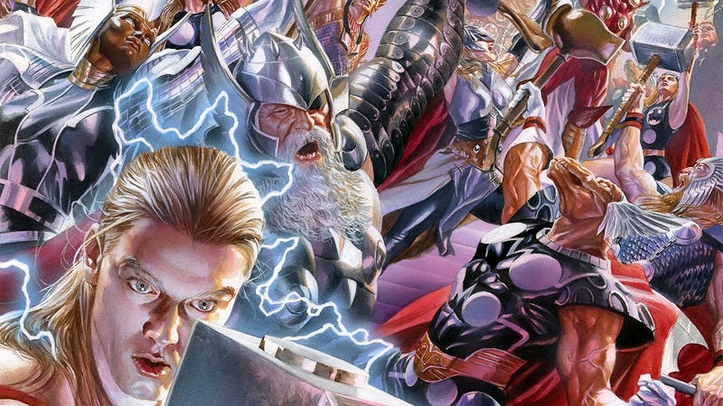 Illustration for article titled Secret Wars #2 pulls from Game Of Thrones to create a new Marvel landscape