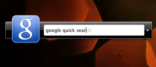 Illustration for article titled Google Quick Search Like Quicksilver from Google