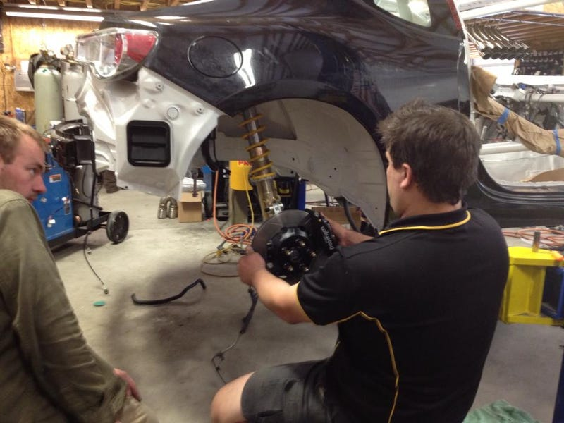 Illustration for article titled Nameless Performance is building a very special rally car