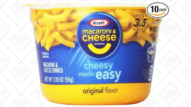 10-Pack Easy Mac, $6 after 15% coupon