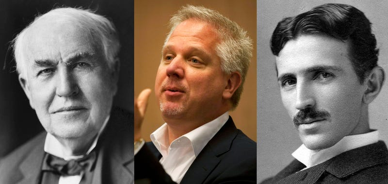 Illustration for article titled Glenn Beck Is Making a Movie About Edison and Tesla