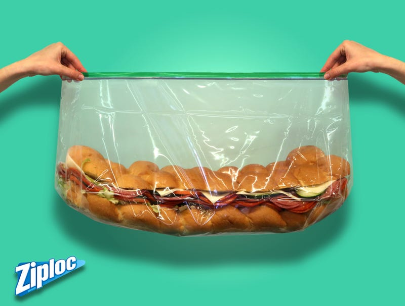 Illustration for article titled Zip-Loc Introduces New Party Sub Sandwich Baggies