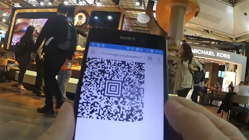 Illustration for article titled Hacker Builds a QR Code Generator That Lets Him Into Fancy Airport Lounges