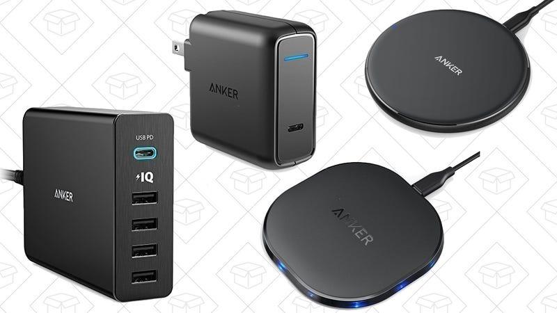 Anker 5W Qi Charger | $15 | AmazonAnker 10W Qi Charger | $17 | AmazonAnker 30W USB-C Wall Charger | $18 | AmazonAnker 5-Port USB-C Charging Hub | $33 | Amazon