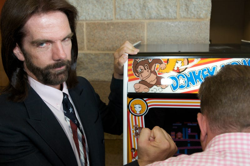 Billy Mitchell at the launch party for the International Video Game Hall of Fame and Museum on August 13, 2009 in Ottumwa, Iowa. Photo: David Greedy/Getty Images
