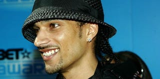 Corey Clark, part of American Idol Season 2, arrives at the BET Awards in 2005. (Frederick M. Brown/Getty Images)