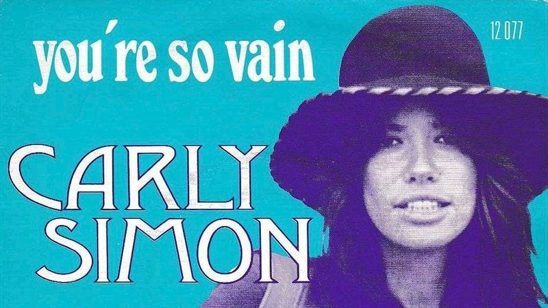 Illustration for article titled Carly Simon finally reveals who's so vain
