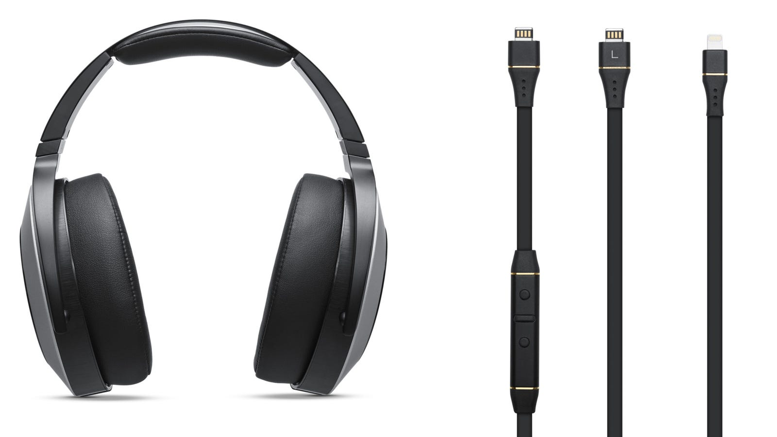headphones wireless kit - These $800 Lightning Headphones Make Your iPhone's 3.5mm Jack Redundant