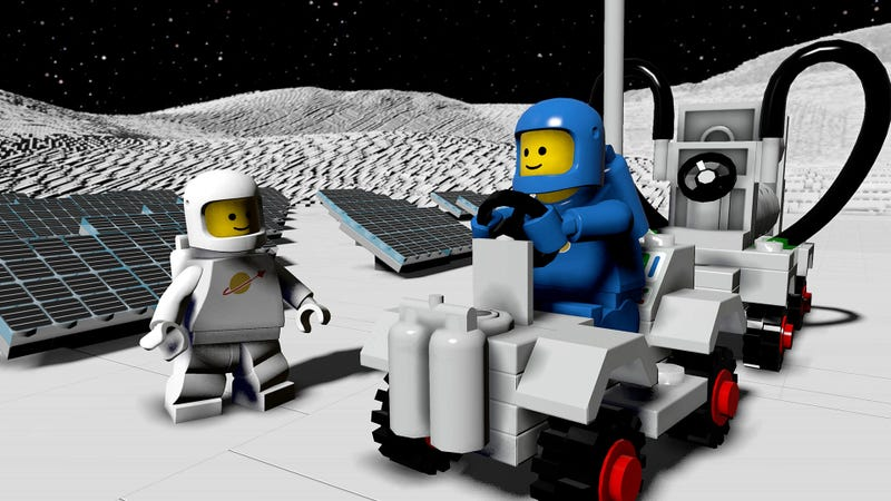 LEGO Worlds Classic Space DLC Pack Blasts Off in July