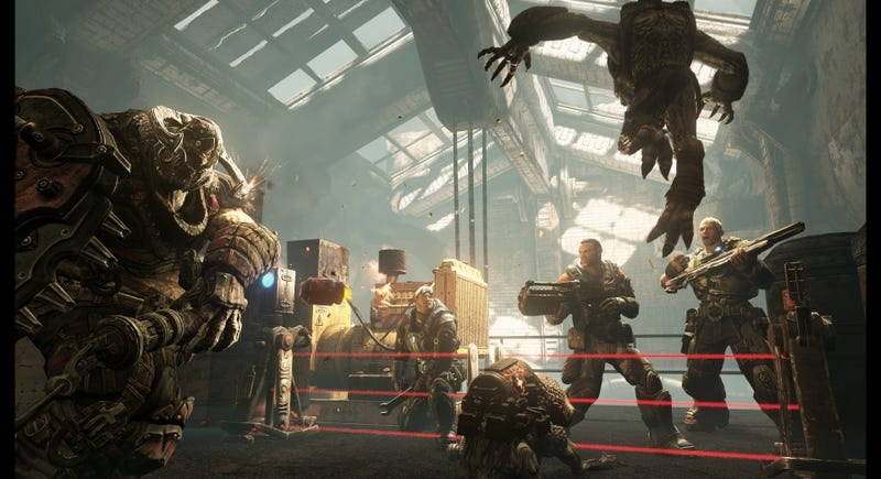 Illustration for article titled Judgment Delivers the Multiplayer Feature Gears of War Fans Demanded
