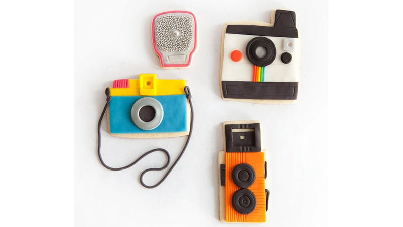 Illustration for article titled These Tiny Camera Cookies Probably Taste Like Film. But They're So Cute.