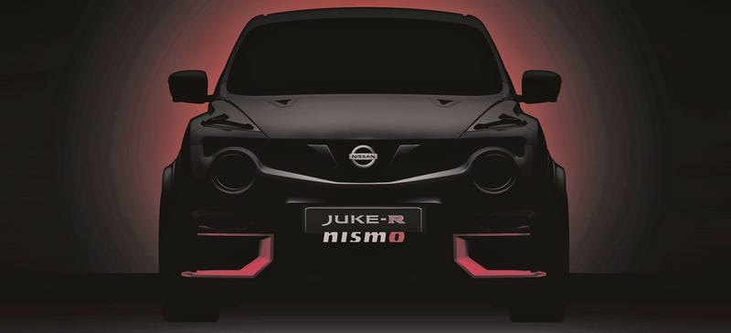 Illustration for article titled An Even Crazier Nissan Juke-R Is Coming