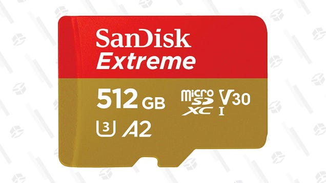 SanDisk s Switch-Friendly 512GB microSD Card Is Down to Just $110