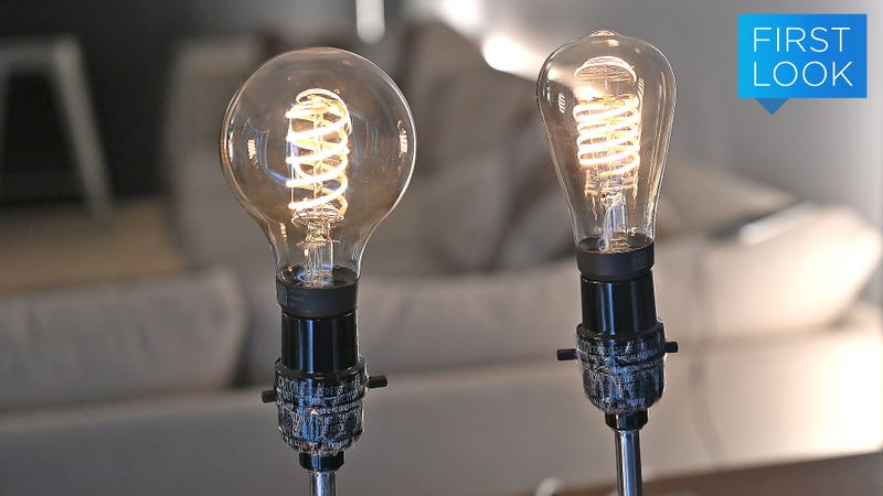 Philips Gave Into the Hipsters and Made Hue Filament Smart Lights