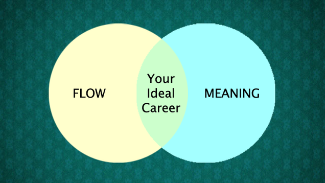 Your Ideal Career Is the Intersection Between Flow and Meaning