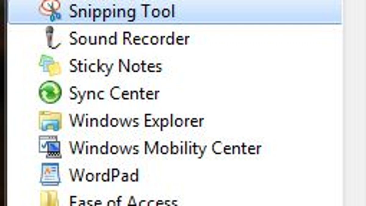 taking a screenshot on windows desktop