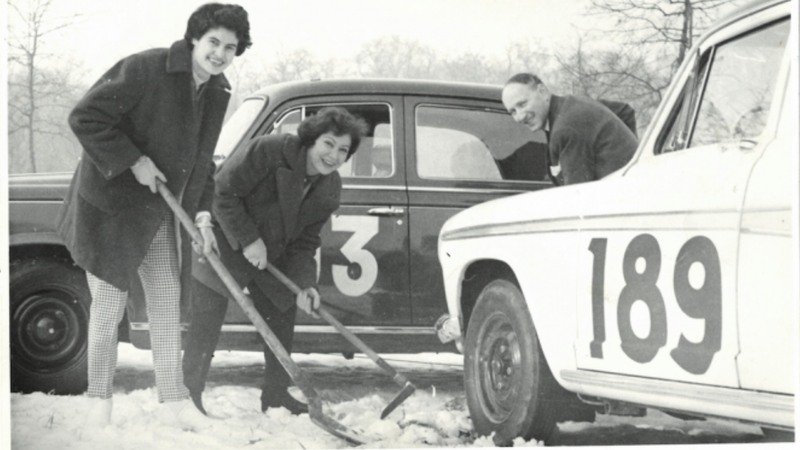 Illustration for article titled Louisette Texier Survived the Armenian Genocide to Become a Pioneering Rally Driver