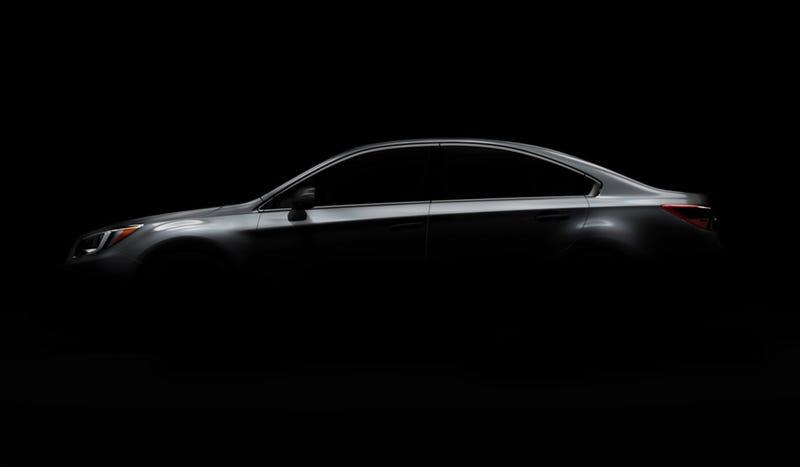 Illustration for article titled The 2015 Subaru Legacy Gets A 'Coupe-Like Profile' Like Everyone Else