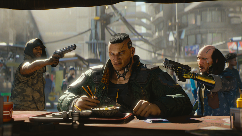 Illustration for article titled Cyberpunk 2077 Is A Violent, Impressive Blend Of Deus Ex And The Witcher 3