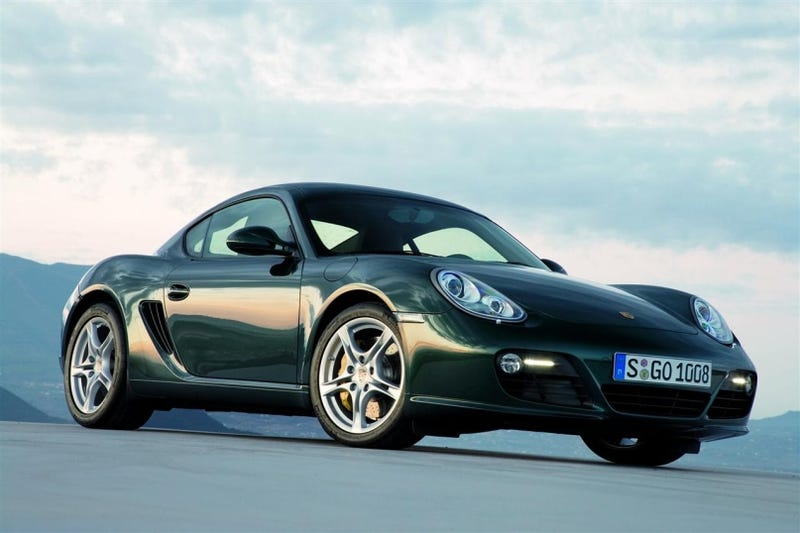 Illustration for article titled 2009 Porsche Cayman Shows Off New PDK Dual-Clutch Gearbox