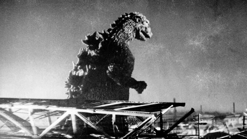 Illustration for article titled This first look at Godzilla will set your kaiju-loving heart at ease