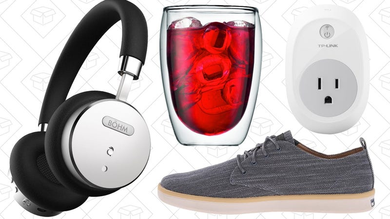 Illustration for article titled Today's Best Deals: Noise Cancelling Headphones, Smart Plugs, Shoes Under $35, and More
