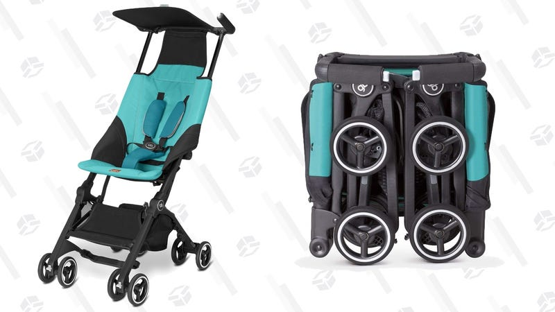 Save $30 On A Stroller That Can Make Flying With a Baby Slightly Less Awful