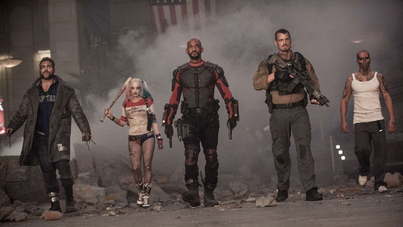 An image from Suicide Squad, whose members may be in one of two movies filming this year. Image: Warner Bros.