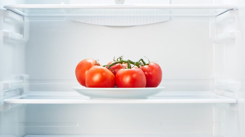 Illustration for article titled Does refrigerating tomatoes zap their flavor?