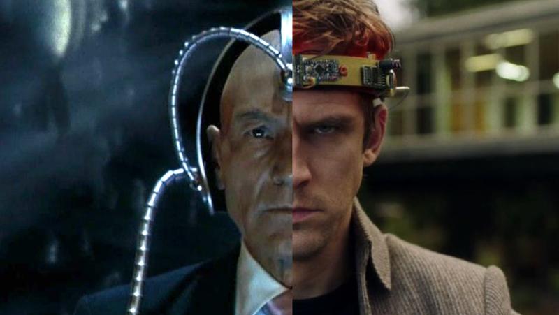 Patrick Stewart as X2's Charles Xavier and Dan Stevens Legion's David Haller.