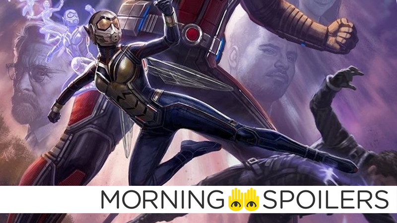 Illustration for article titled New Ant-Man and the Wasp Set Pictures Give Us a First Look at an Iconic Comics Character