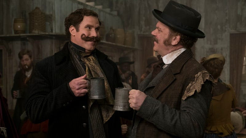 Illustration for article titled Holmes & Watson reportedly tested so poorly, not even Netflix wanted it