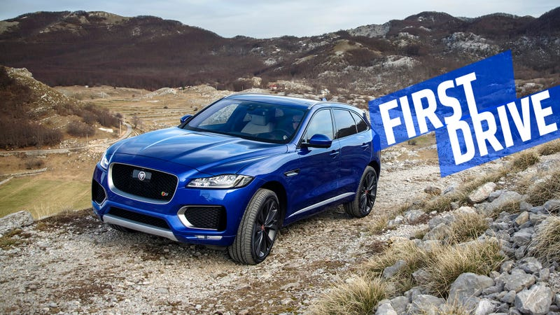 Illustration for article titled The 2017 Jaguar F-Pace Is Proof Crossovers Don't Have To Suck