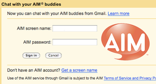 Illustration for article titled Gmail Adds AIM Support to Chat