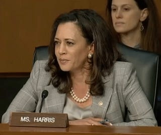 Kamala Harris Just Handed Jeff Sessions His Ass
