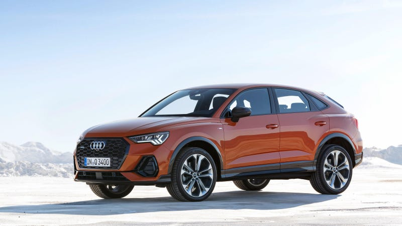 Illustration for article titled The 2020 Audi Q3 Sportback Brings a Chopped Roof and Not Much Else