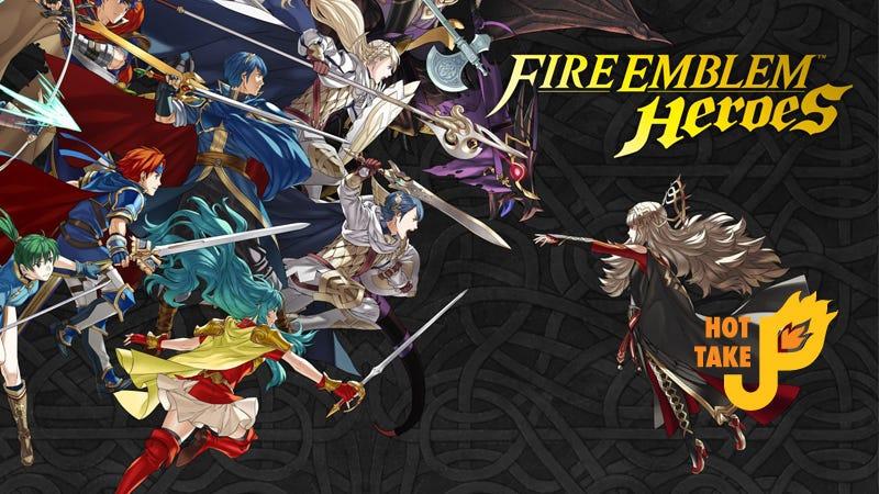 Illustration for article titled Hot Take: Fire Emblem Heroes (Mobile)
