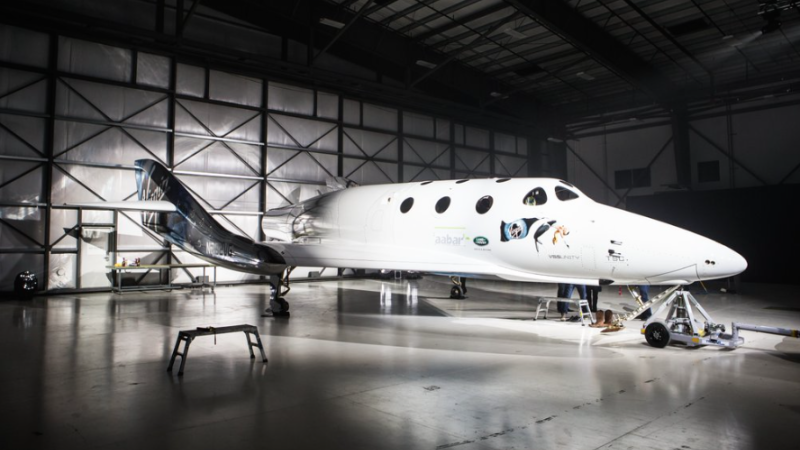 Illustration for article titled Here Is Our First Look at Virgin Galactic's New Space Plane