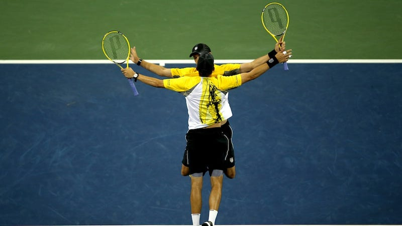 Illustration for article titled The Bryan Brothers Quest For Golden Slam Ends In Semifinals