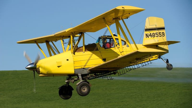 Illustration for article titled Crop-duster dropped Easter candy for kids, and it may be covered in herbicide