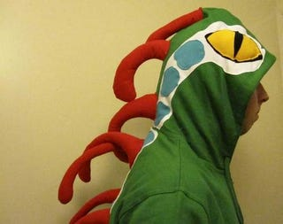 Illustration for article titled Dress Like A Murloc In This WoW-Inspired Hoodie