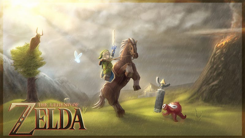 Illustration for article titled In a Perfect World, We'd be Able to Buy This Zelda LEGO