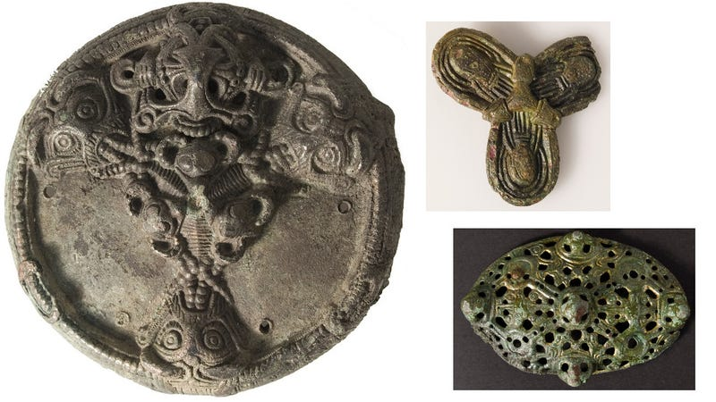 Illustration for article titled 1,000 Year-old Viking Jewelry Found On Danish Farm