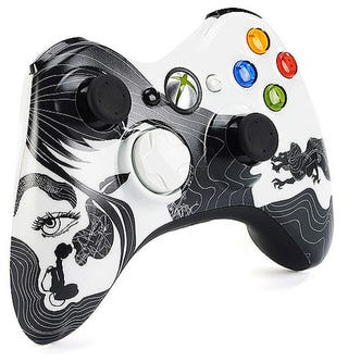 "Illustration for article titled Xbox 360 ""Dragon"" Controller Goes Exclusively To Walmart"