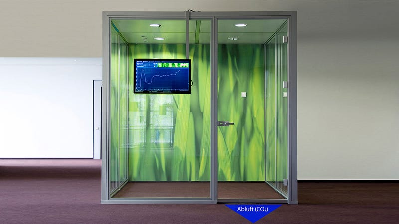 Illustration for article titled This Room-Monitoring Smart Door Lets Fresh Air In To Keep You Awake