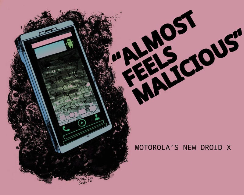 Illustration for article titled Motorola Droid X Review