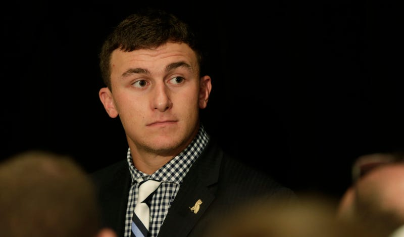 Illustration for article titled Johnny Manziel Suspended For 30 Minutes [Update]