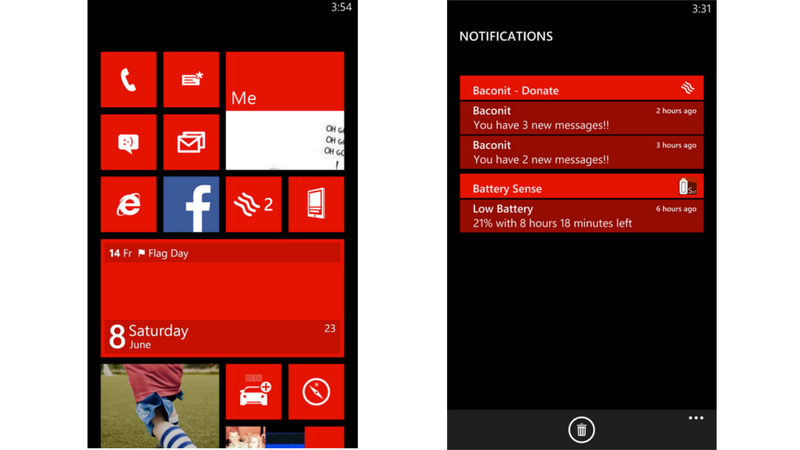 Windows Phone podría tener pronto un centro de notificaciones