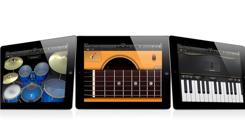 Illustration for article titled Garage Band for iPad Puts a Recording Studio on Your Lap