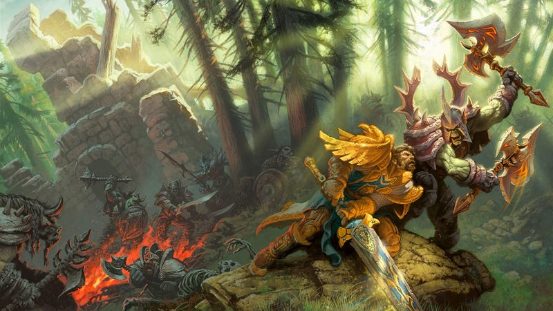 Illustration for article titled The Warcraft movie could begin filming in January